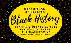 Nottingham Celebrates Black History Month