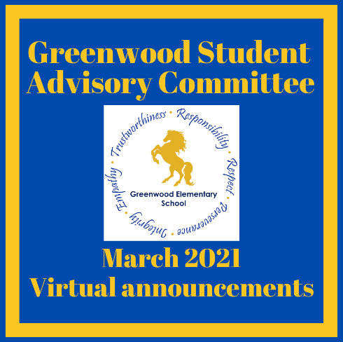 March Virtual Announcements