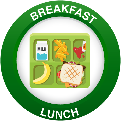 Breakfast and Lunch info