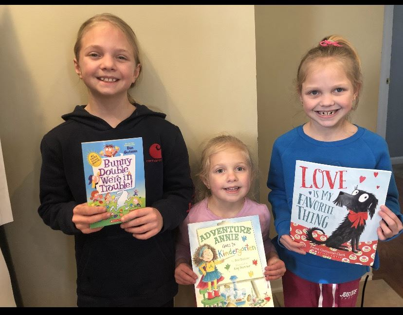 the mandell girls share their favorite book