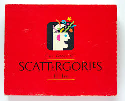 Family Scattergories Game - Feb. 24th
